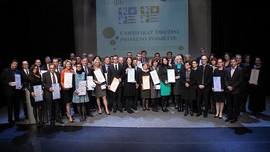 Dobitniki certifikata 2013