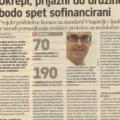 Finance, marec 2011