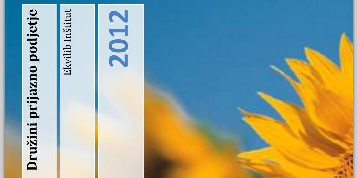 Brošura certifikata 2012