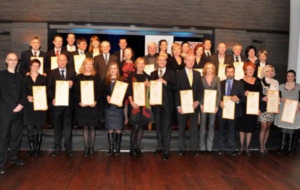 Dobitniki certifikata 2011