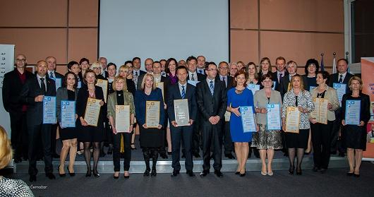Dobitniki certifikata 2015