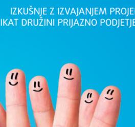Publikacija: Usklajevanje zasebnega in poklicnega življenja v praksi