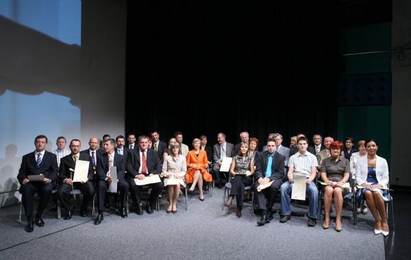 Dobitniki certifikata 2007