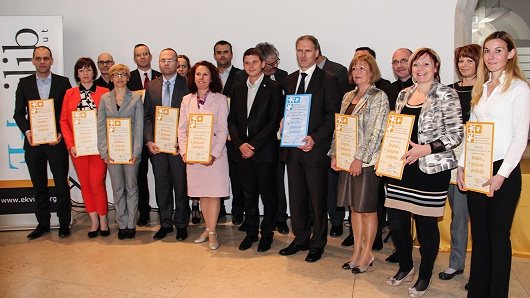 Dobitniki certifikata 2014