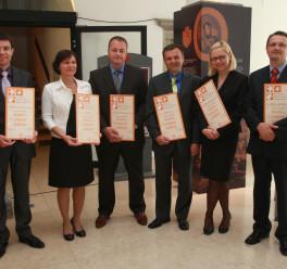 Dobitniki certifikata 2008