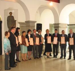 Dobitniki certifikata 2009