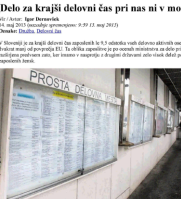 Dnevnik, 14.5.2013